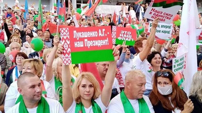 В Беларуси продолжаются акции и митинги