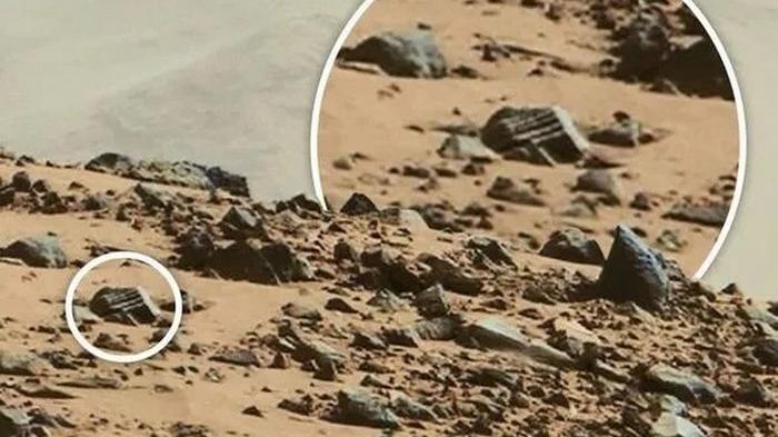 Древний храм пришельцев обнаружен на Марсе