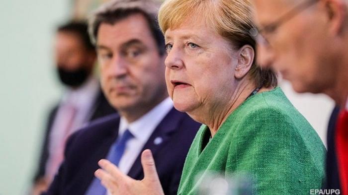 Власти Германии ввели штраф за отсутствие маски