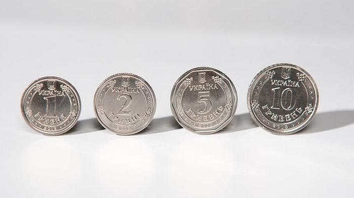 НБУ может изменить дизайн монет номиналом до 10 грн