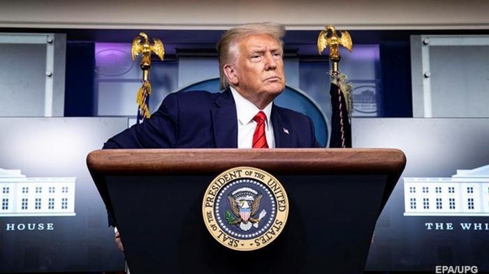 Протесты в США: Трамп указал на разжигателей