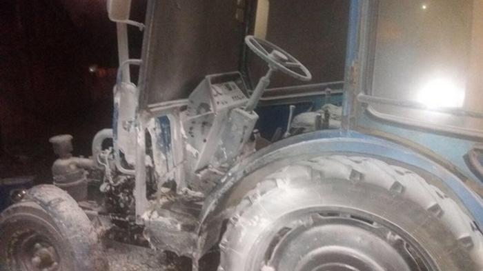 В Харькове произошел взрыв на авторынке Барабашово
