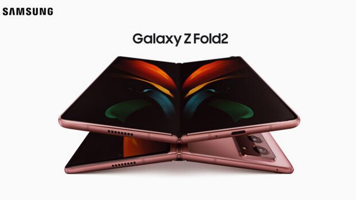 Samsung представила гибкий смартфон-гибрид нового поколения Galaxy Z Fold 2 (видео)