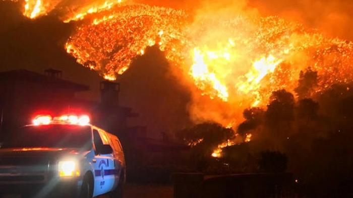 В Калифорнии огонь охватил рекордную территорию (фото)