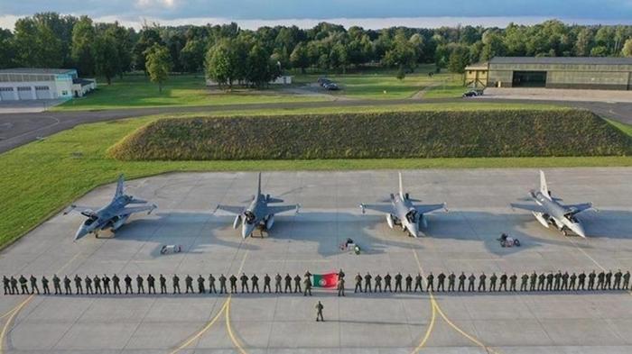 Португалия разместила истребители в Польше