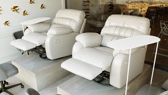 Педикюрные кресла и их разновидности