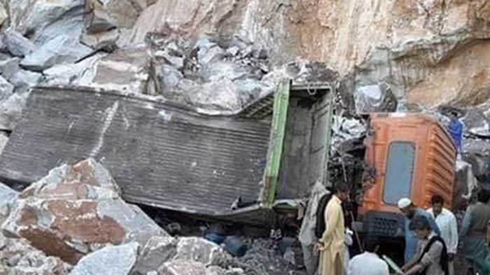 Авария на мраморной шахте в Пакистане: 12 погибших