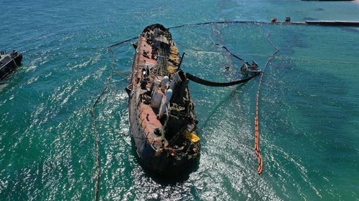 Названа общая сумма убытков из-за танкера Delfi