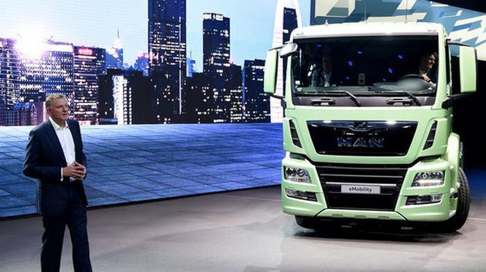 Производитель грузовиков MAN хочет сократить 9500 рабочих ради новых проектов