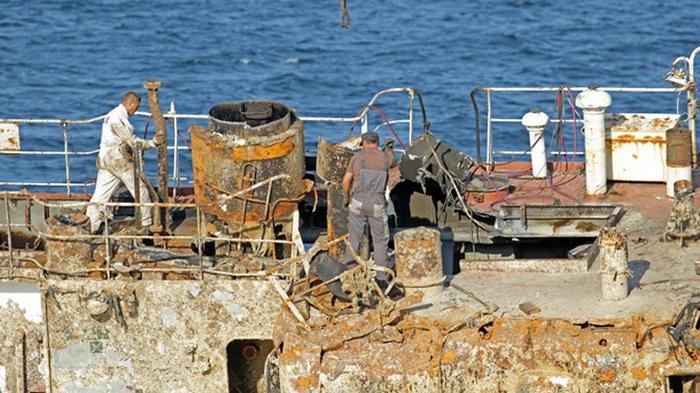 Подъем танкера Delfi отложили еще на несколько дней