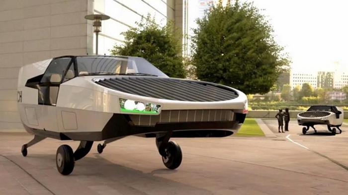 Создан прототип летающего автомобиля (фото)