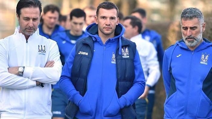 Сборная Украины за неделю сыграет три матча с топовыми соперниками