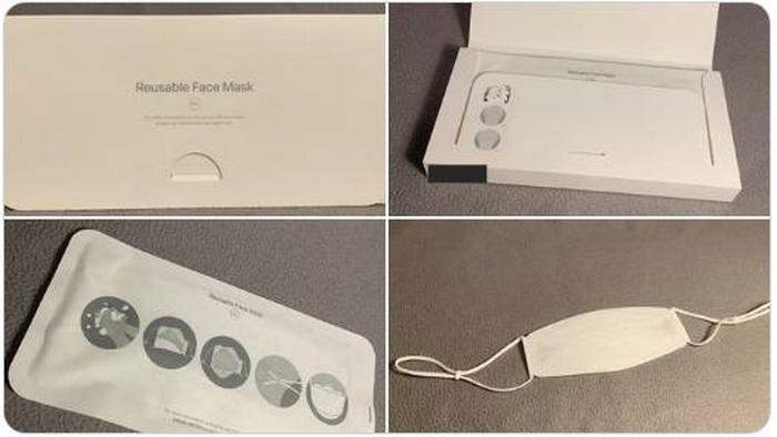 Apple создали защитную маску с дизайном от iPhone
