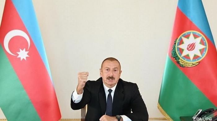 Алиев о Карабахе: Призывы к диалогу неуместны