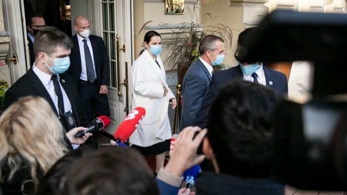 Тихановская рассказала об итогах переговоров с Макроном