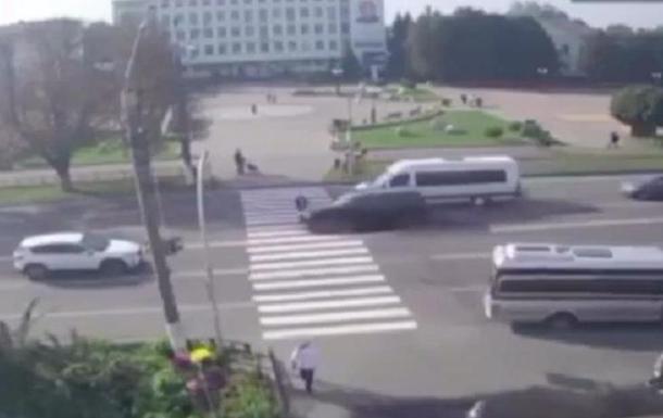 В Борисполе на переходе сбили ребенка (видео)