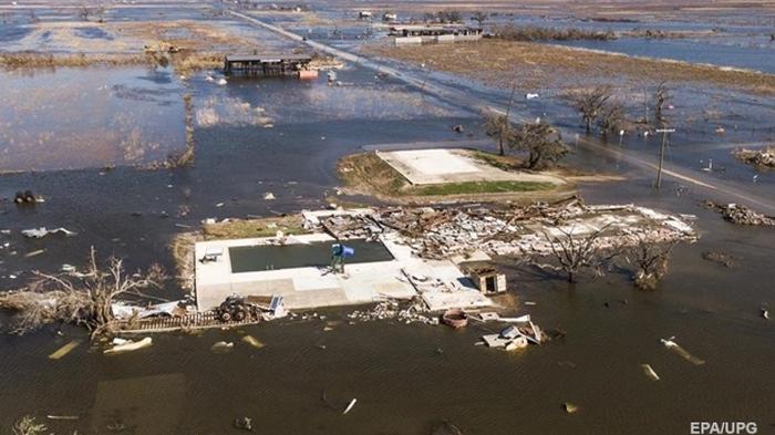 Ураган Дельта ударил по побережью США