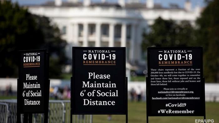 В США почти 8 миллионов случаев коронавируса