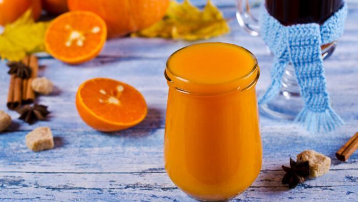 Рецепт тыквенного джема с апельсином и облепихой