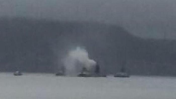 Возле побережья Британии горит субмарина - СМИ
