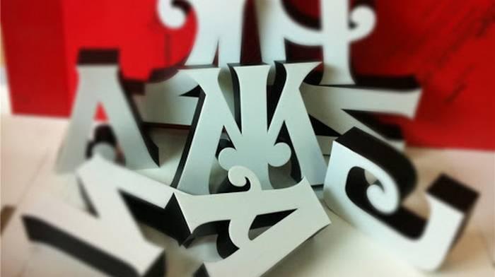 Объемные буквы: для чего нужны и как изготавливаются?
