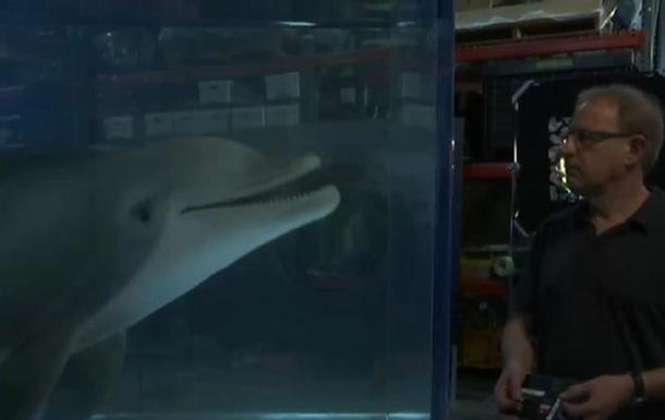 В США создали робота-дельфина (видео)