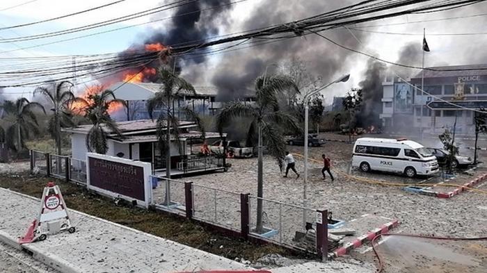 В Таиланде взорвался газопровод, есть погибшие (видео)
