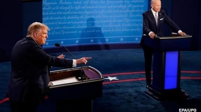 Дебаты Трампа и Байдена: назван победитель