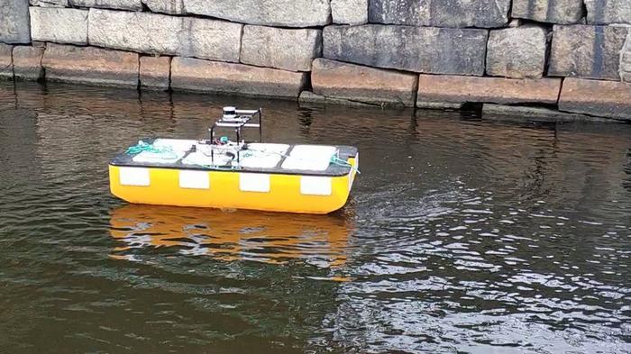 Беспилотные лодки перевезли первых пассажиров: видео