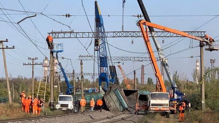 Крушение поезда в Кривом Роге. Задержан подозреваемый в демонтаже ж/д-полотна