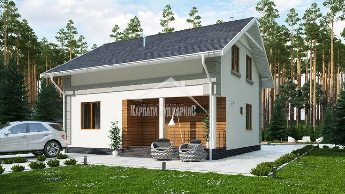 Канадские дома в Украине от строительной компании «Карпаты Буд Каркас»