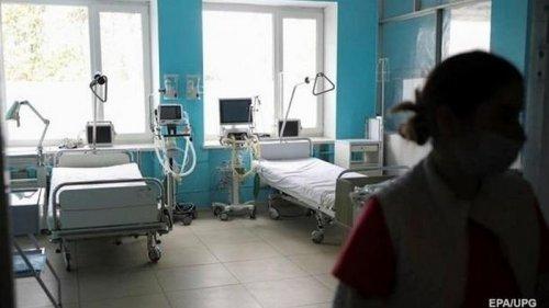 В Украине заняты более 67% больничных коек