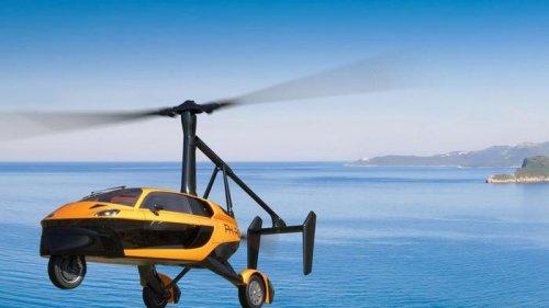 Голландский летающий автомобиль сертифицирован для езды по дорогам: ви...
