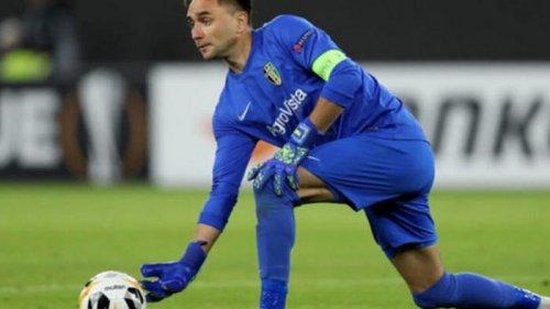 Шевченко вызвал в сборную четырех вратарей