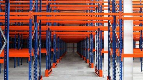 Складское оборудование - паллетные стеллажи для склада от Триометалл Сервис