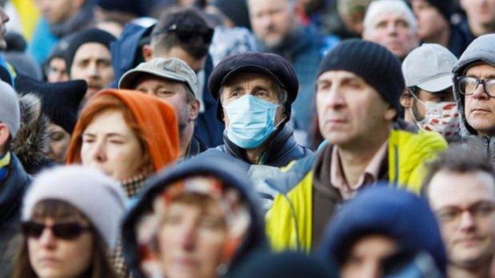 Новый антирекорд в Украине: 14 575 заболевших COVID-19