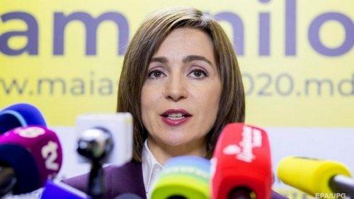 В Молдове объявили Санду победителем выборов президента