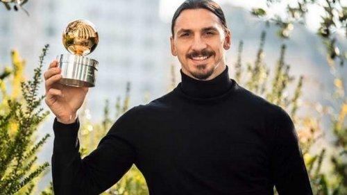 Ибрагимович признан футболистом года в Швеции