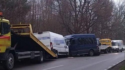 В Польше столкнулись микроавтобусы с украинцами, есть жертвы