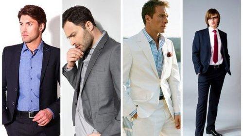 Стильная мужская одежда для особого приглашения