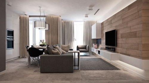 Дизайн интерьера трёхкомнатной квартиры: основные правила