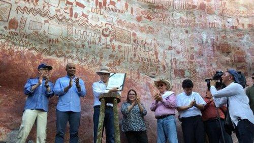 В Колумбии нашли тысячи древних рисунков на скалах (фото)