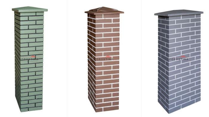 Подмуровка и бетонные столбики