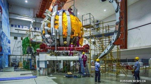 В КНР запустили термоядерное «искусственное солнце»