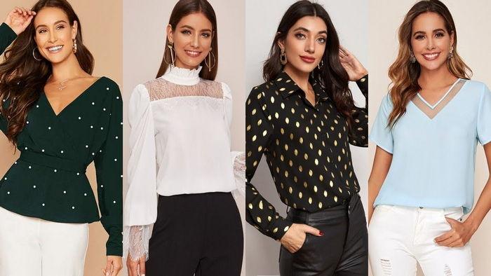 Брендовая женская блузка, несомненно, сделает свой вклад в образ