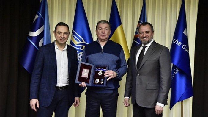 Блохина наградили орденом Ярослава Мудрого II степени