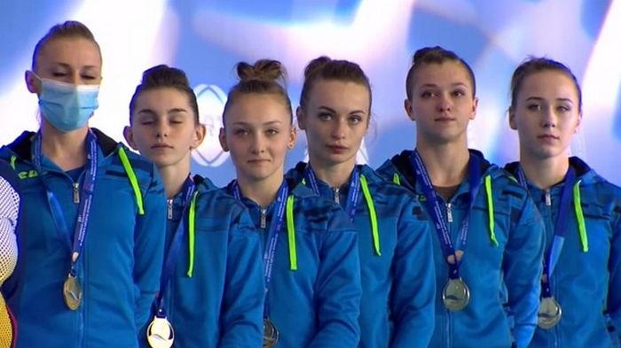 Украинские гимнастки впервые в истории выиграли чемпионат Европы