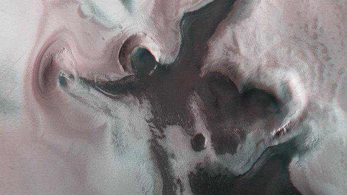 На Марсе появилось изображение ангела (фото)