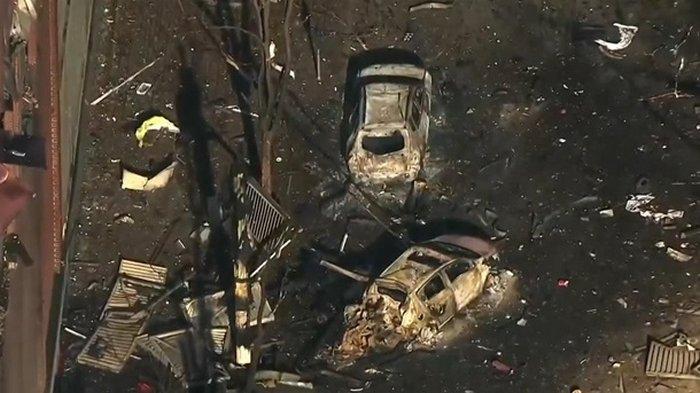 В американском Нэшвилле взорвался автомобиль (видео)