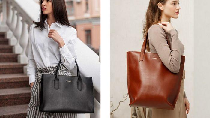 Кожаные сумки украинского производства: особенности